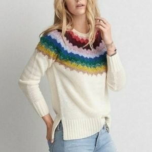 AE Ahh-mazingly Soft Rainbow Sweater
